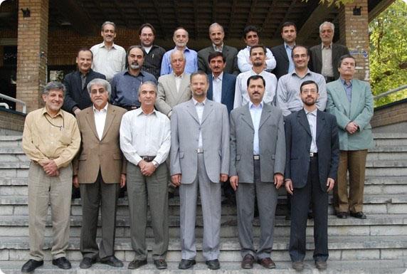 اعضای هیئت علمی دانشکدهی عمران